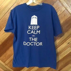 Doctor Who Keep Calm I'm The Doctor Shirt